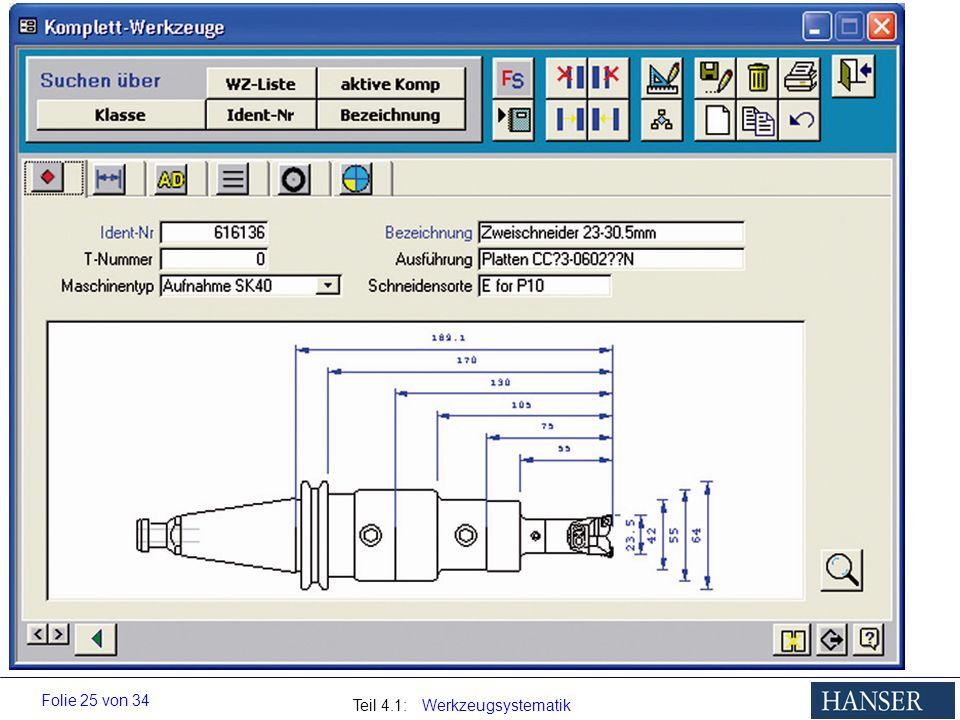 Werkzeugverwaltung, Komplettwerkzeug,