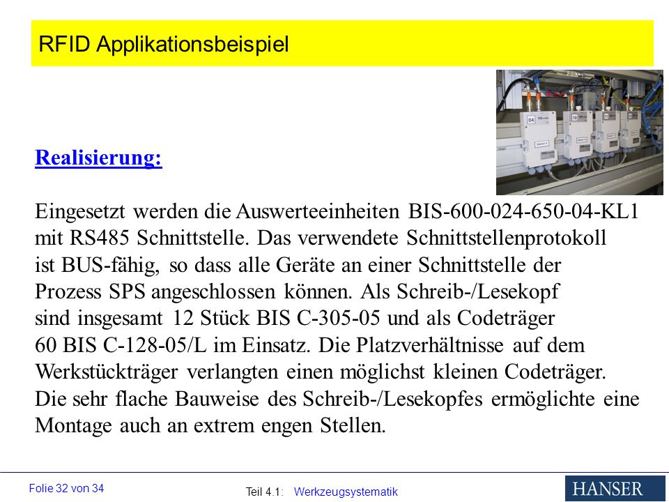 RFID Applikationsbeispiel