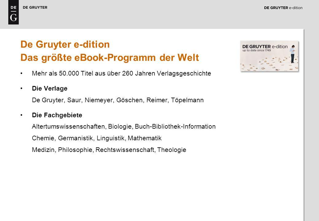 Das größte eBook-Programm der Welt