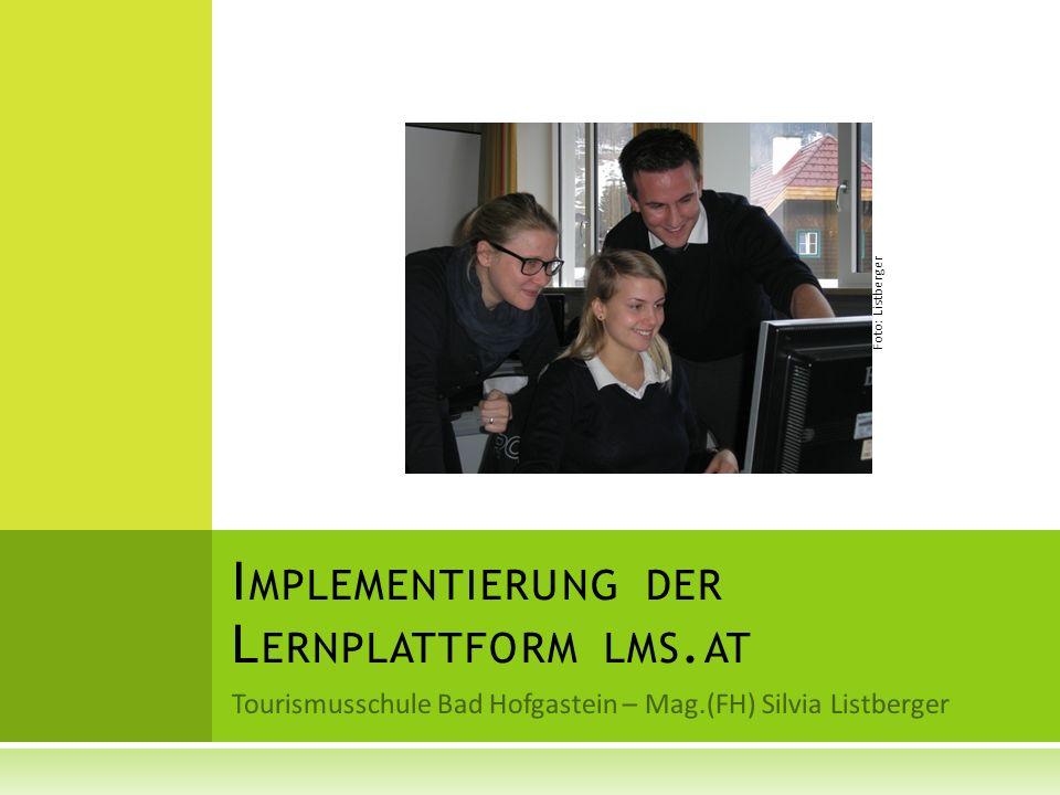 Implementierung der Lernplattform lms.at