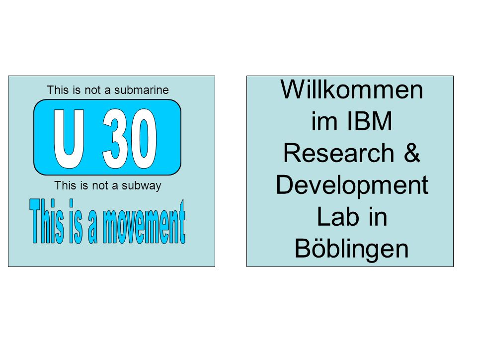 Willkommen im IBM Research & Development Lab in Böblingen