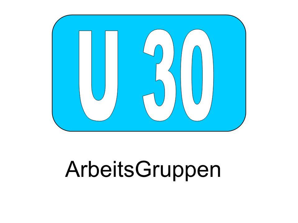 U 30 ArbeitsGruppen
