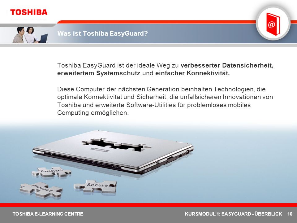 Was ist Toshiba EasyGuard