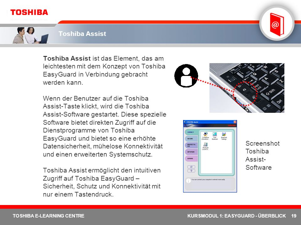 Toshiba Assist-Software