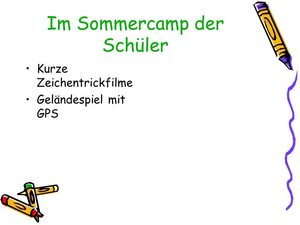 Im Sommercamp der Schüler