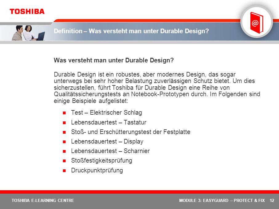 Definition – Was versteht man unter Durable Design