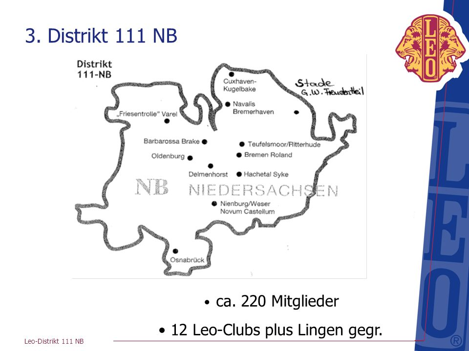 12 Leo-Clubs plus Lingen gegr.