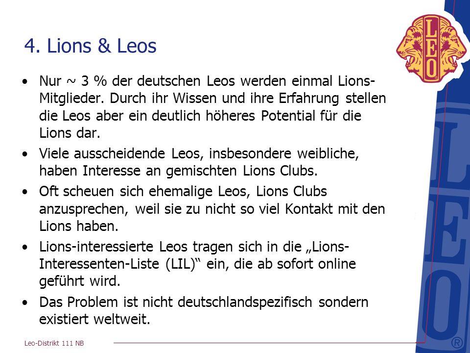 4. Lions & Leos