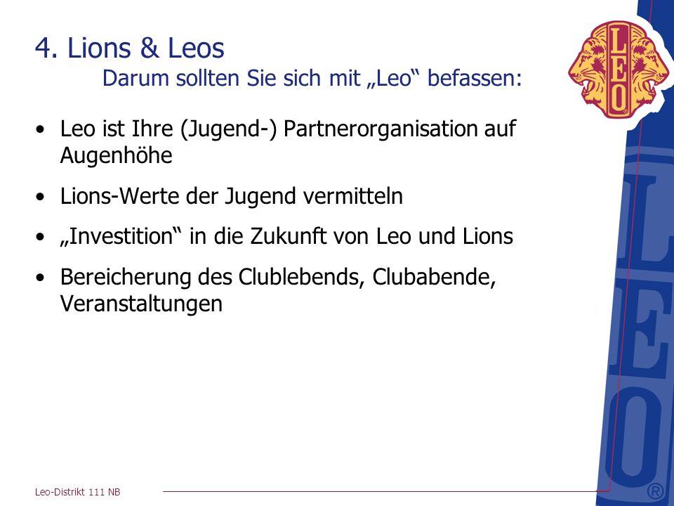 """4. Lions & Leos Darum sollten Sie sich mit """"Leo befassen:"""