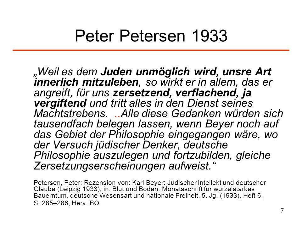 Peter Petersen 1933