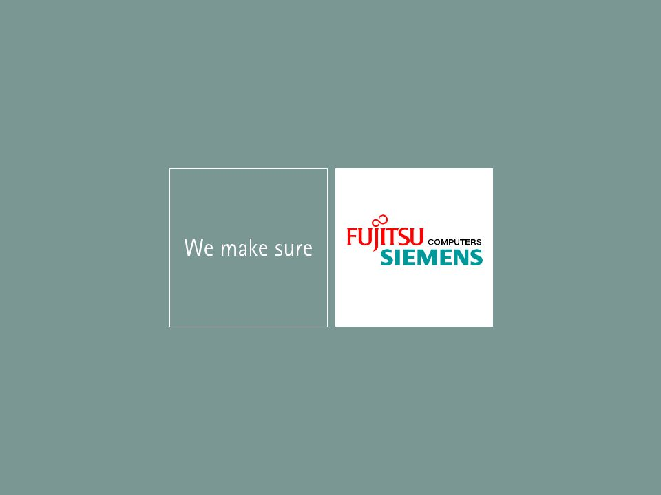 © Fujitsu All rights reserved