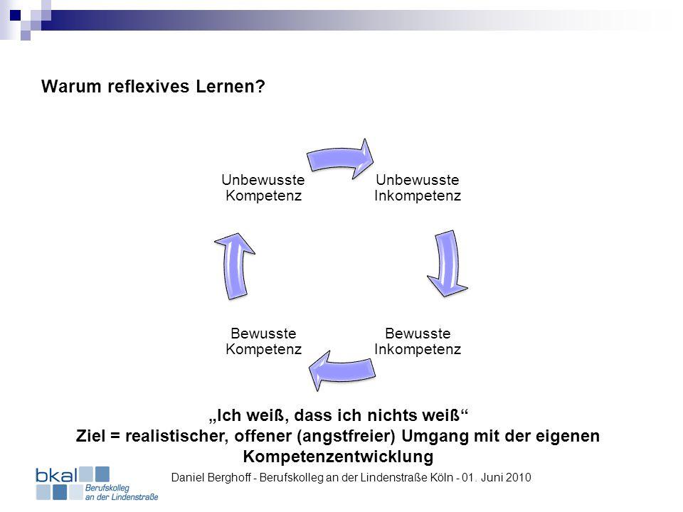 Warum reflexives Lernen