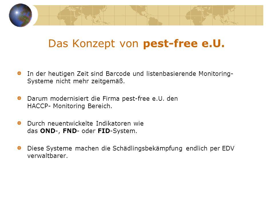 Das Konzept von pest-free e.U.