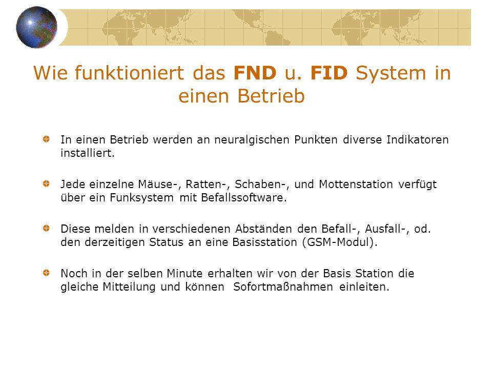 Wie funktioniert das FND u. FID System in einen Betrieb