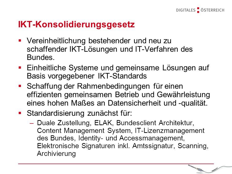 IKT-Konsolidierungsgesetz