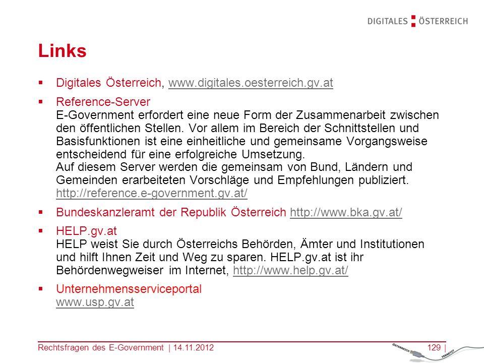 Links Digitales Österreich, www.digitales.oesterreich.gv.at