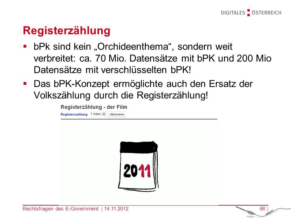 Registerzählung