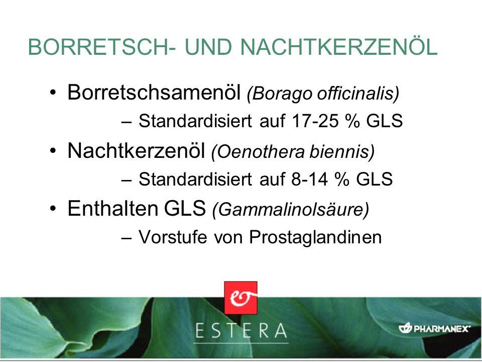 BORRETSCH- UND NACHTKERZENÖL