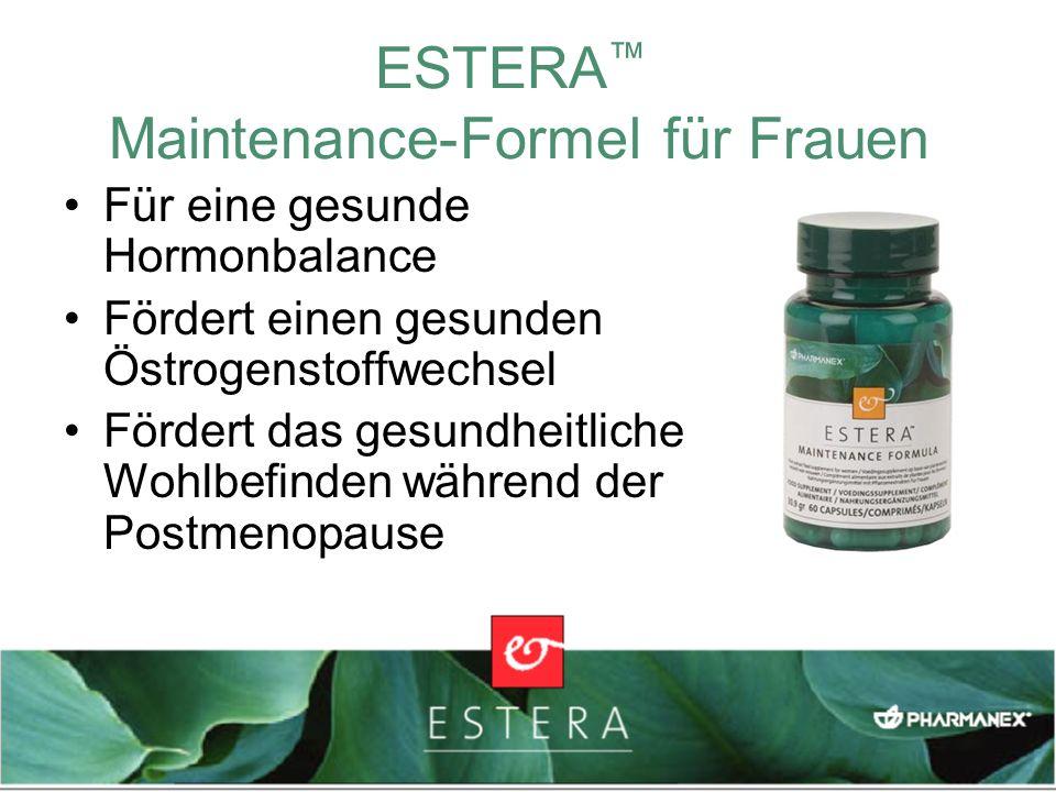 ESTERA™ Maintenance-Formel für Frauen