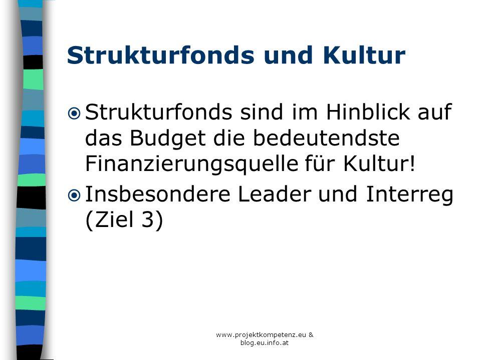 Strukturfonds und Kultur