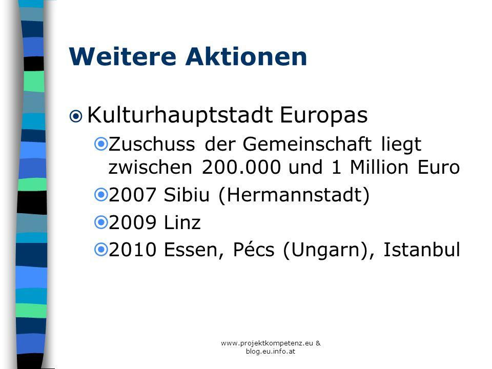 www.projektkompetenz.eu & blog.eu.info.at