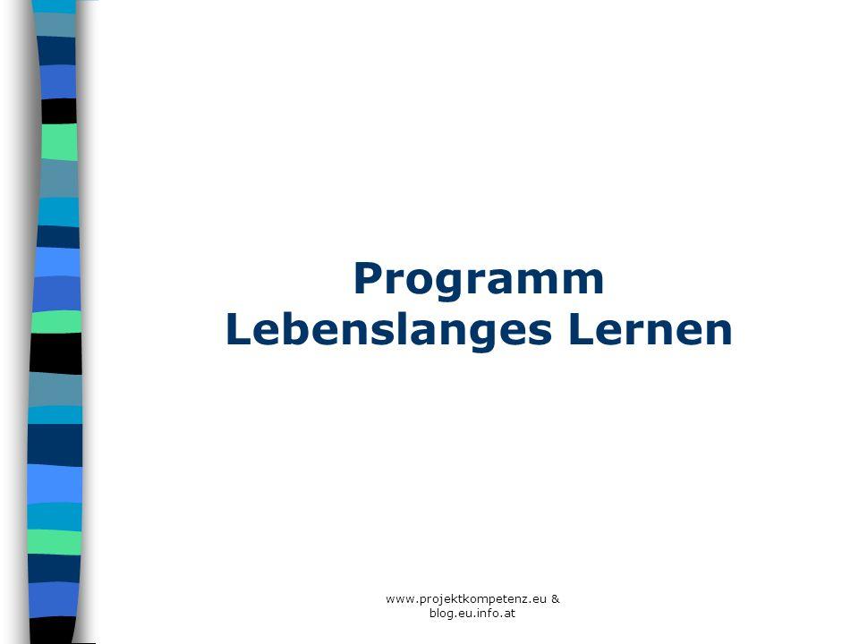 Programm Lebenslanges Lernen