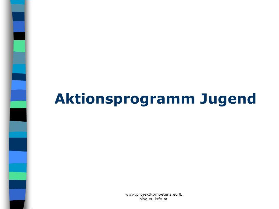 Aktionsprogramm Jugend