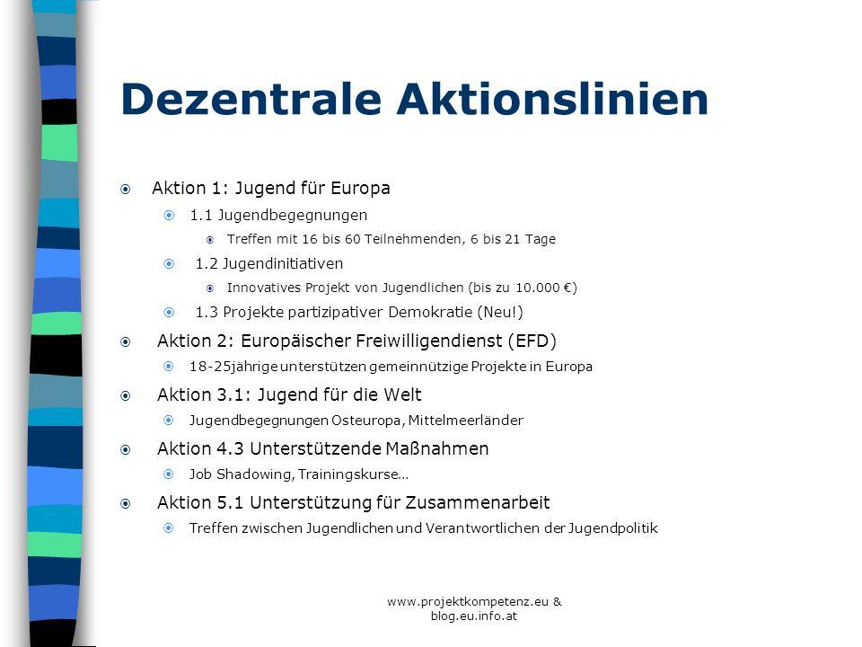 Dezentrale Aktionslinien