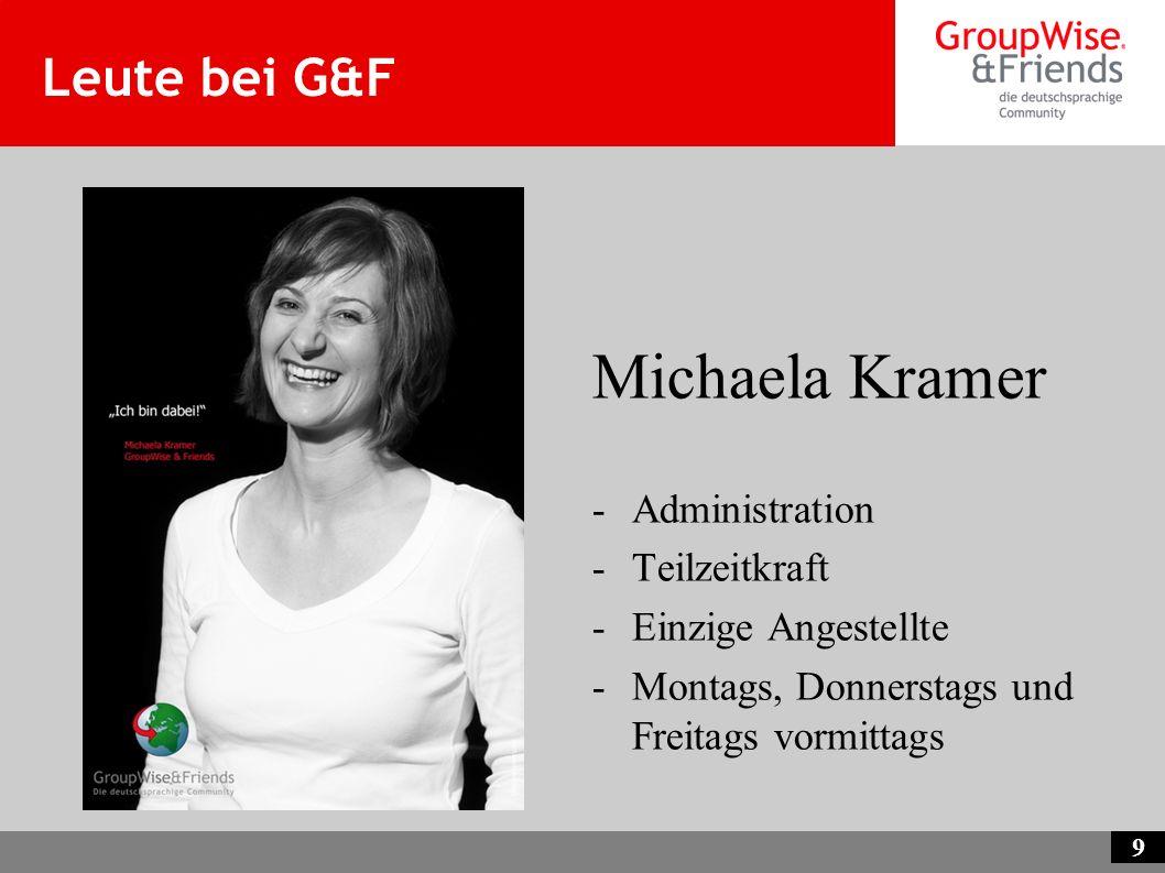 Michaela Kramer Leute bei G&F Administration Teilzeitkraft