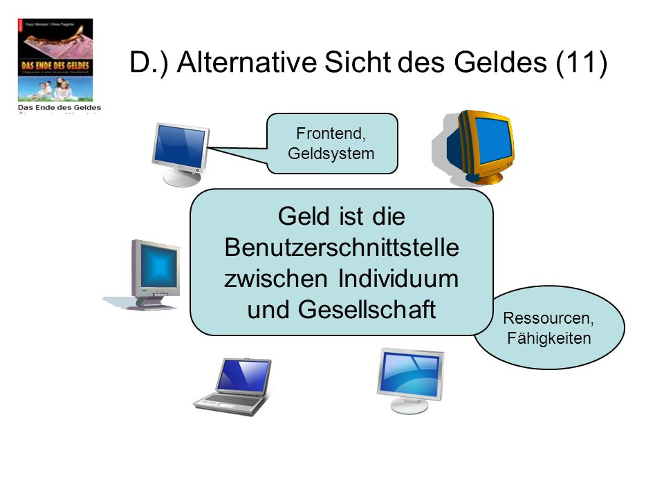 D.) Alternative Sicht des Geldes (11)