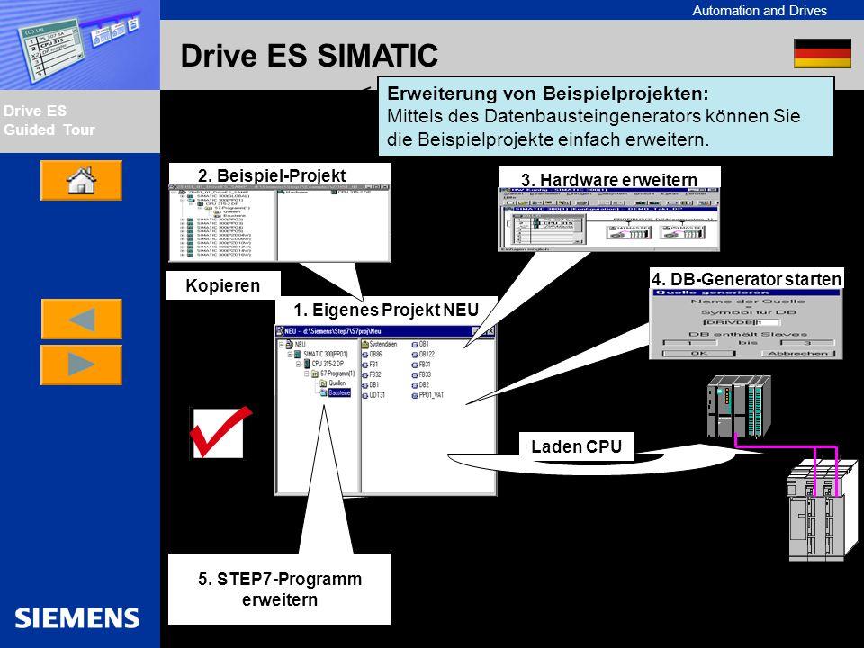 5. STEP7-Programm erweitern