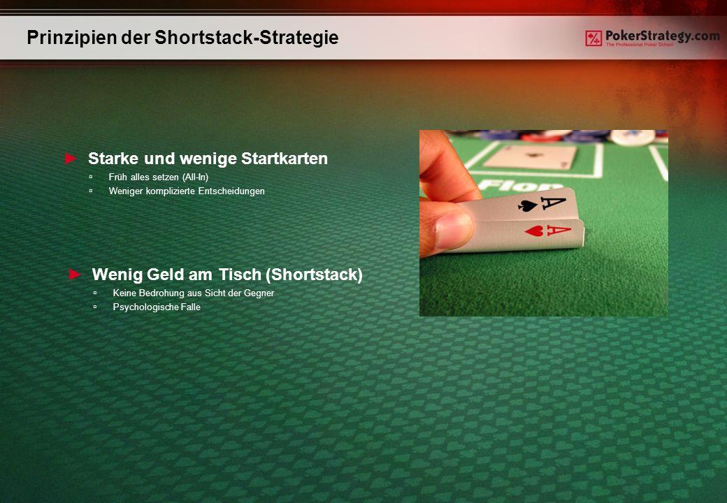 Prinzipien der Shortstack-Strategie