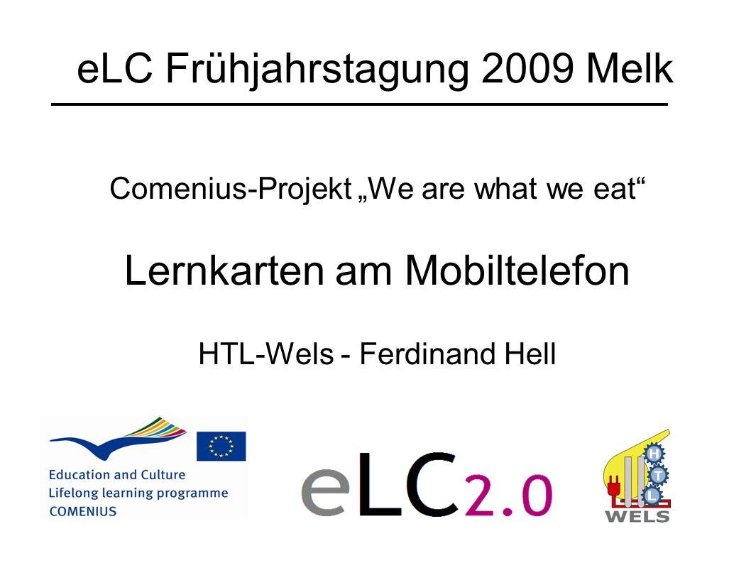 eLC Frühjahrstagung 2009 Melk