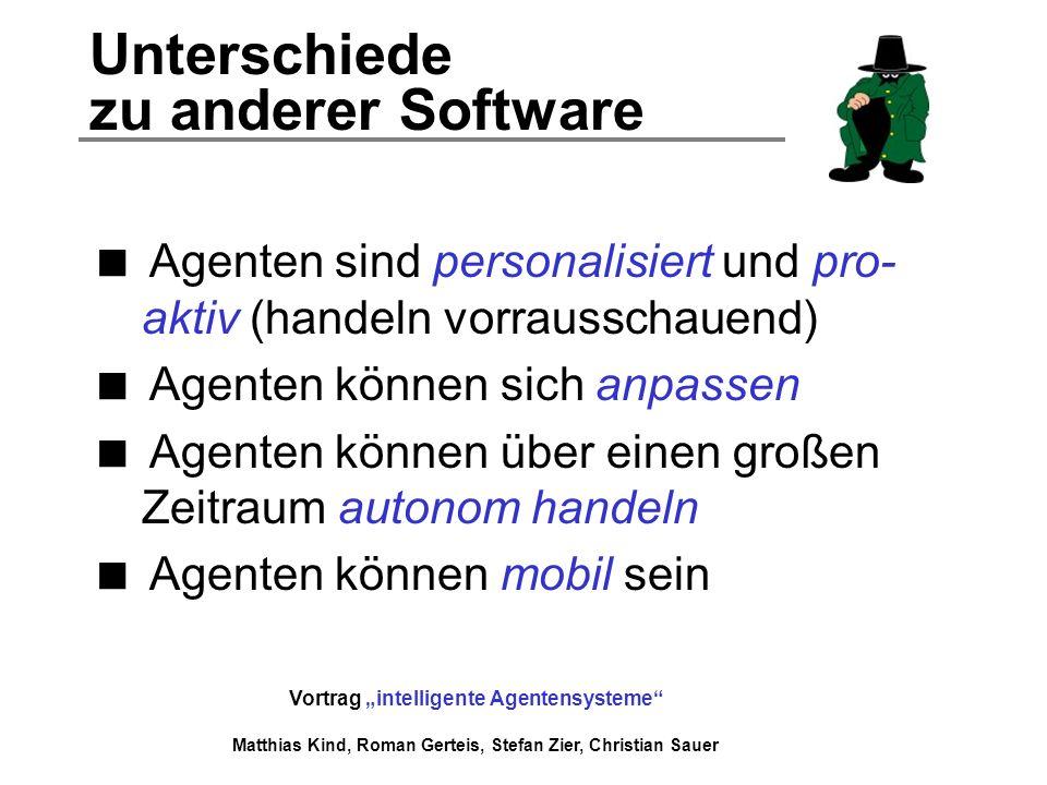Unterschiede zu anderer Software