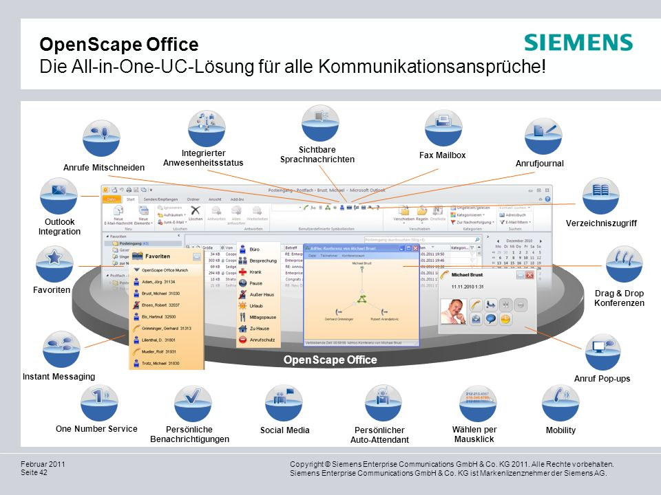 OpenScape Office Die All-in-One-UC-Lösung für alle Kommunikationsansprüche!