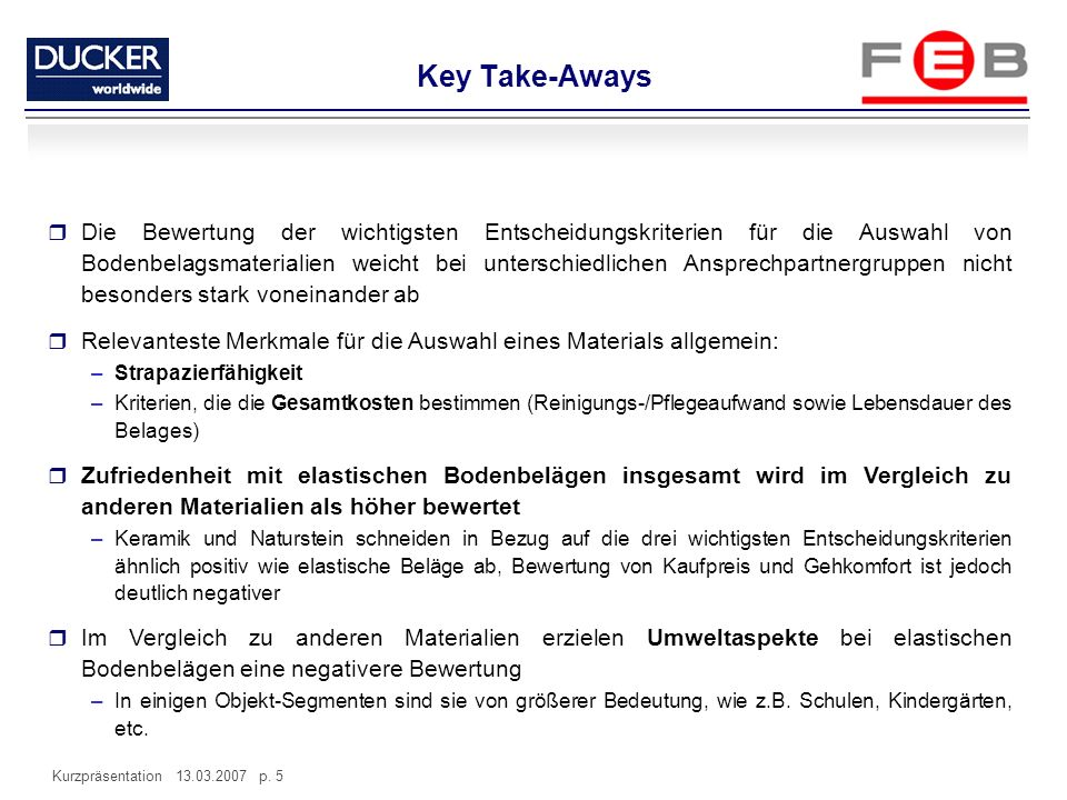 Key Take-Aways