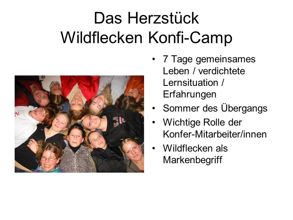 Das Herzstück Wildflecken Konfi-Camp