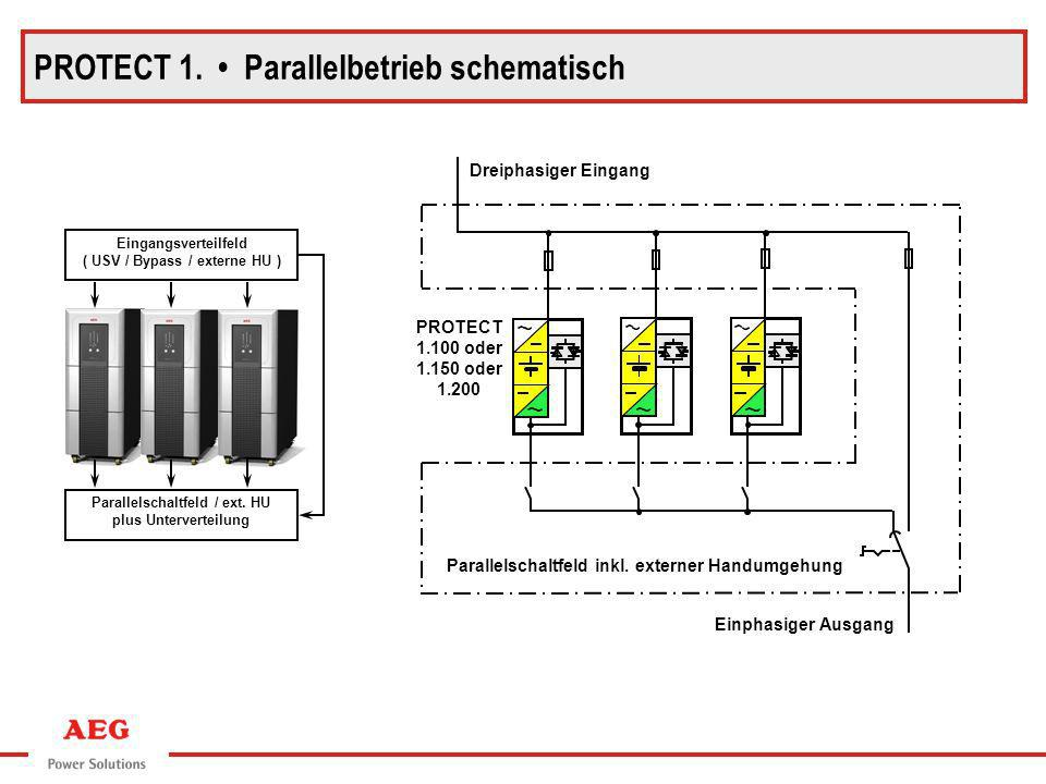 PROTECT 1. • Parallelbetrieb schematisch