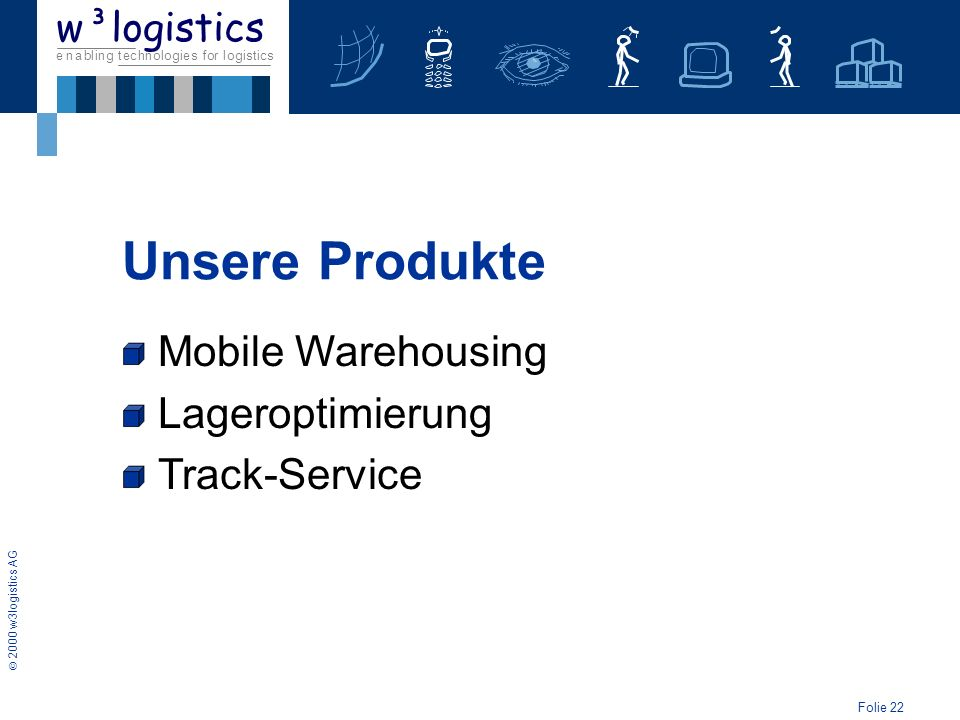 Unsere Produkte Track-Service Mobile Warehousing Lageroptimierung