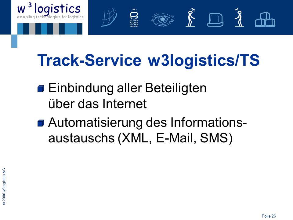 Track-Service w3logistics/TS