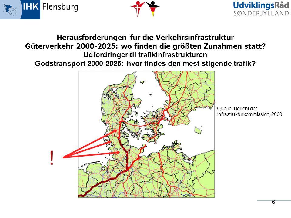 ! Herausforderungen für die Verkehrsinfrastruktur