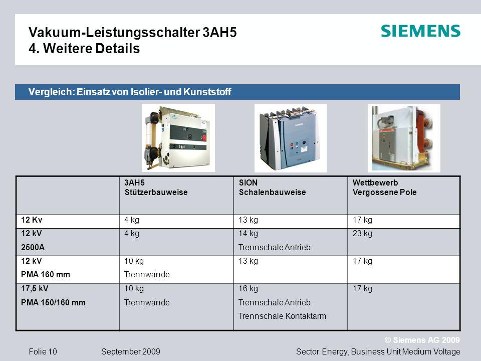 Vergleich: Einsatz von Isolier- und Kunststoff