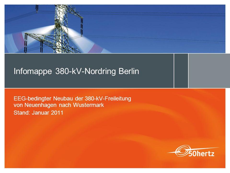 Infomappe 380-kV-Nordring Berlin