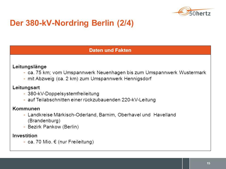 Der 380-kV-Nordring Berlin (2/4)