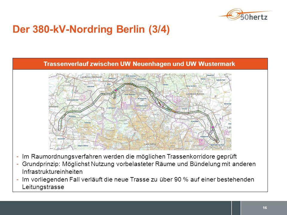 Der 380-kV-Nordring Berlin (3/4)