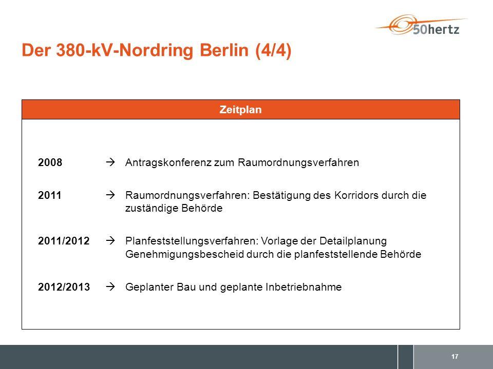 Der 380-kV-Nordring Berlin (4/4)