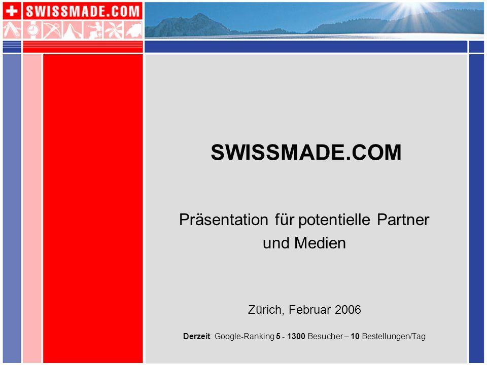 Präsentation für potentielle Partner