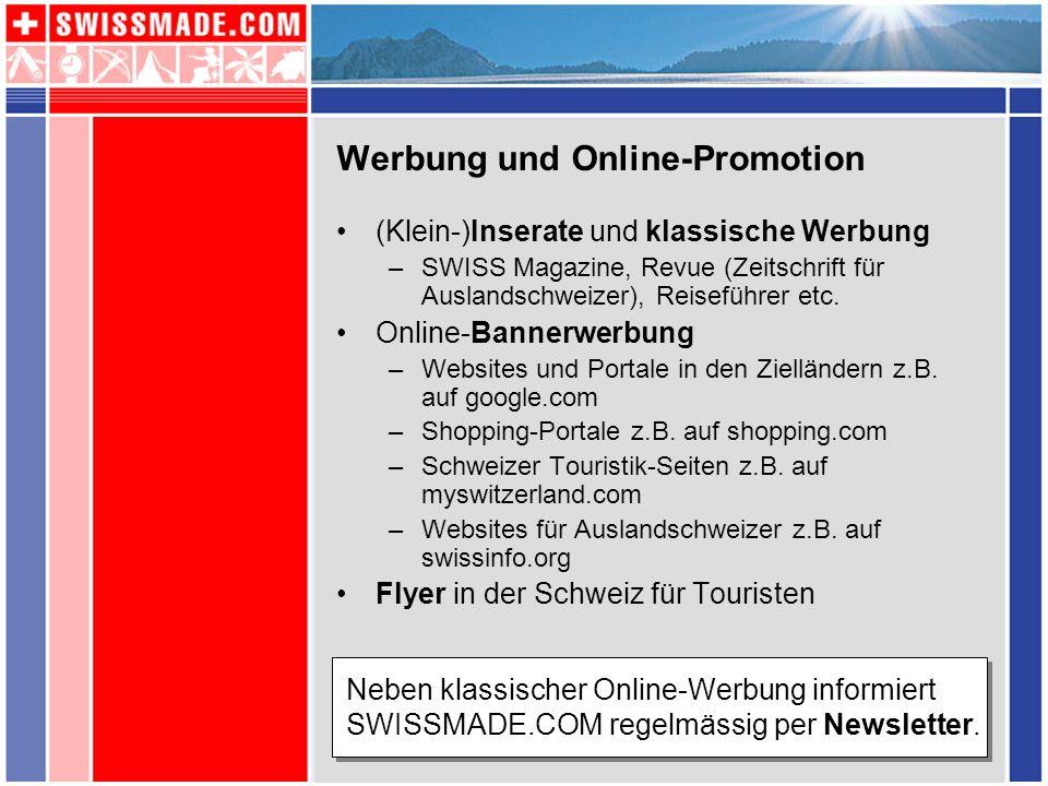 Werbung und Online-Promotion