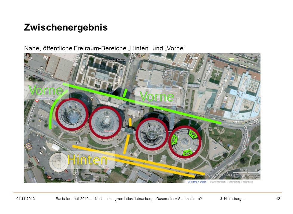 """Zwischenergebnis Nahe, öffentliche Freiraum-Bereiche """"Hinten und """"Vorne 25.03.2017"""
