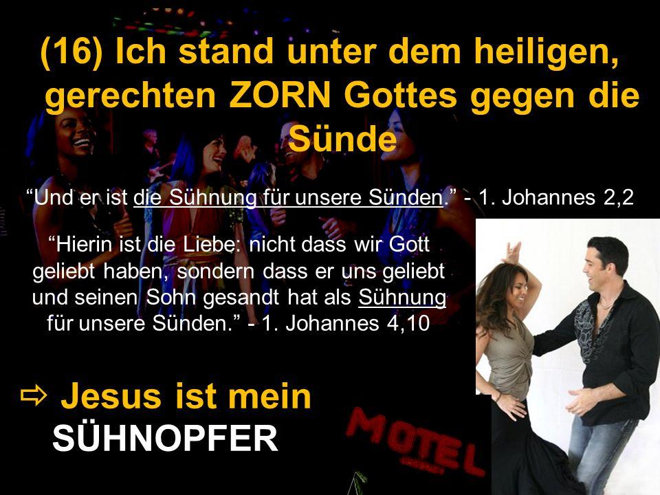  Jesus ist mein SÜHNOPFER